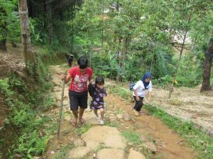 Menuju Kampung Baduy