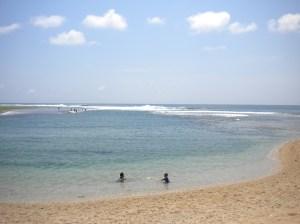 Landscafe Pantai Ujung Genteng