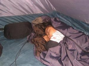 Rinjani Terlelap Di Tenda