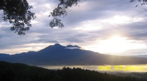 View Sunrise G. Gede