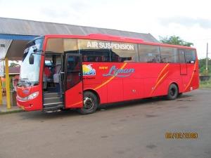 Bus PO Liman Sorowako - makasar