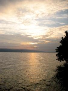 Danau Matano Di Kala senja