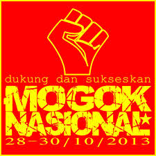 Sticker Mogok Nasional