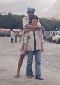 Tilang & ii @ Papandayan 2003