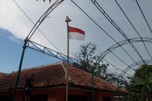 Tiang Bendera & Kukusan Nasi