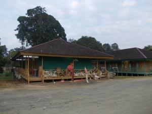 Salah Satu Camp Tempat Pekerja Beristirahat