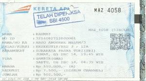 Tiket Argo Bromo Anggrek Malam
